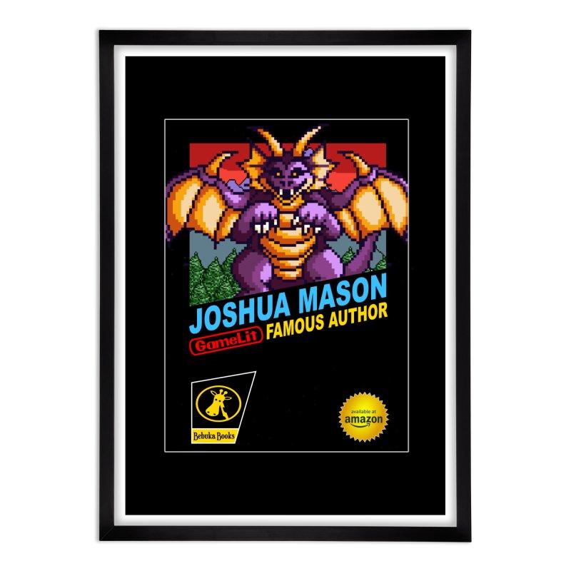 Joshua Mason, Famous Author Home Framed Fine Art Print by steamwhistlealley's Artist Shop