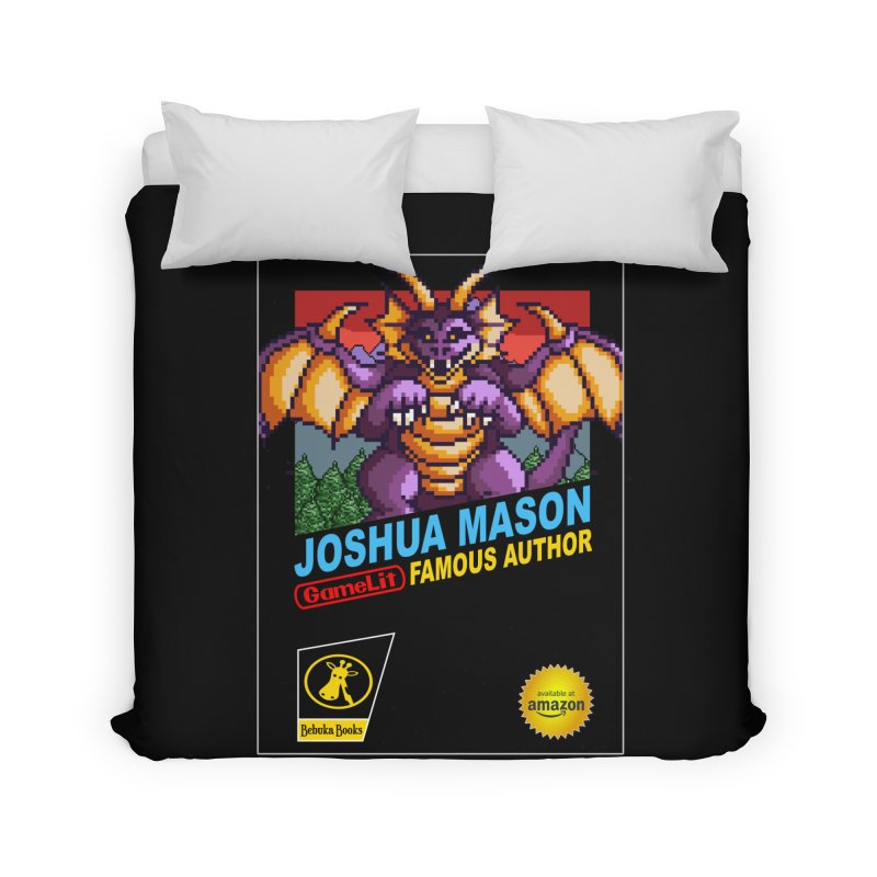 Joshua Mason, Famous Author Home Duvet by steamwhistlealley's Artist Shop