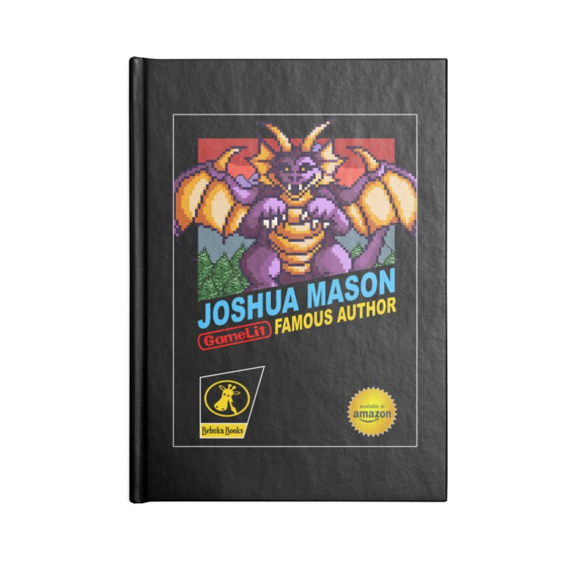 Joshua Mason, Famous Author Accessories Lined Journal Notebook by steamwhistlealley's Artist Shop