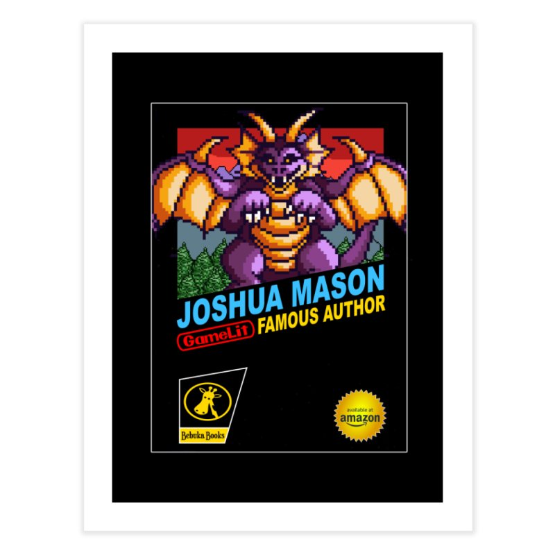 Joshua Mason, Famous Author Home Fine Art Print by steamwhistlealley's Artist Shop