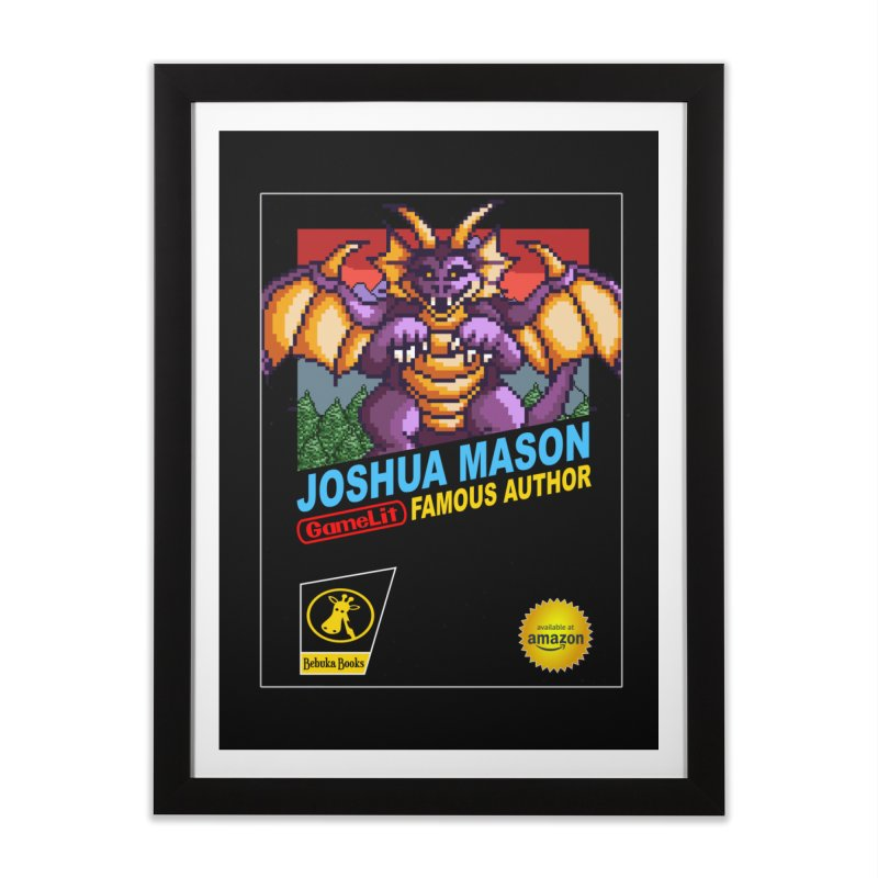 Joshua Mason, Famous Author Home Framed Fine Art Print by steamwhistlealley's Artist Shop