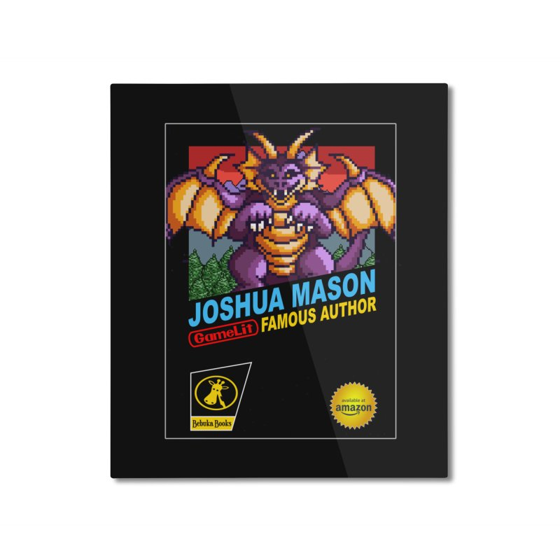 Joshua Mason, Famous Author Home Mounted Aluminum Print by steamwhistlealley's Artist Shop