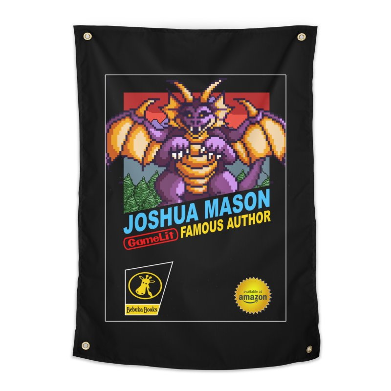 Joshua Mason, Famous Author Home Tapestry by steamwhistlealley's Artist Shop