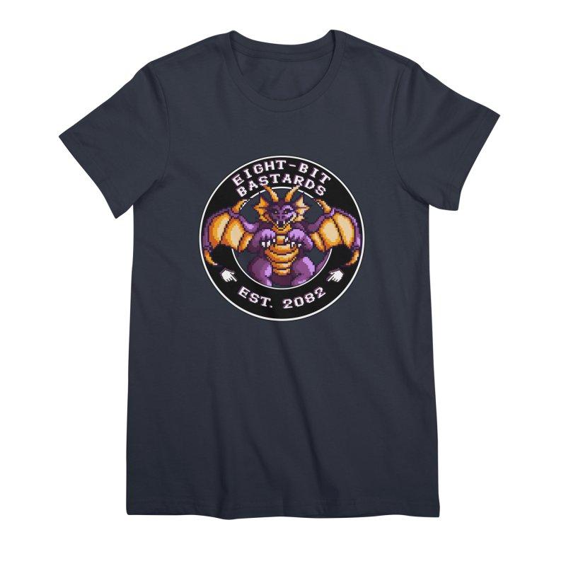 Eight-Bit Bastards Women's Premium T-Shirt by steamwhistlealley's Artist Shop