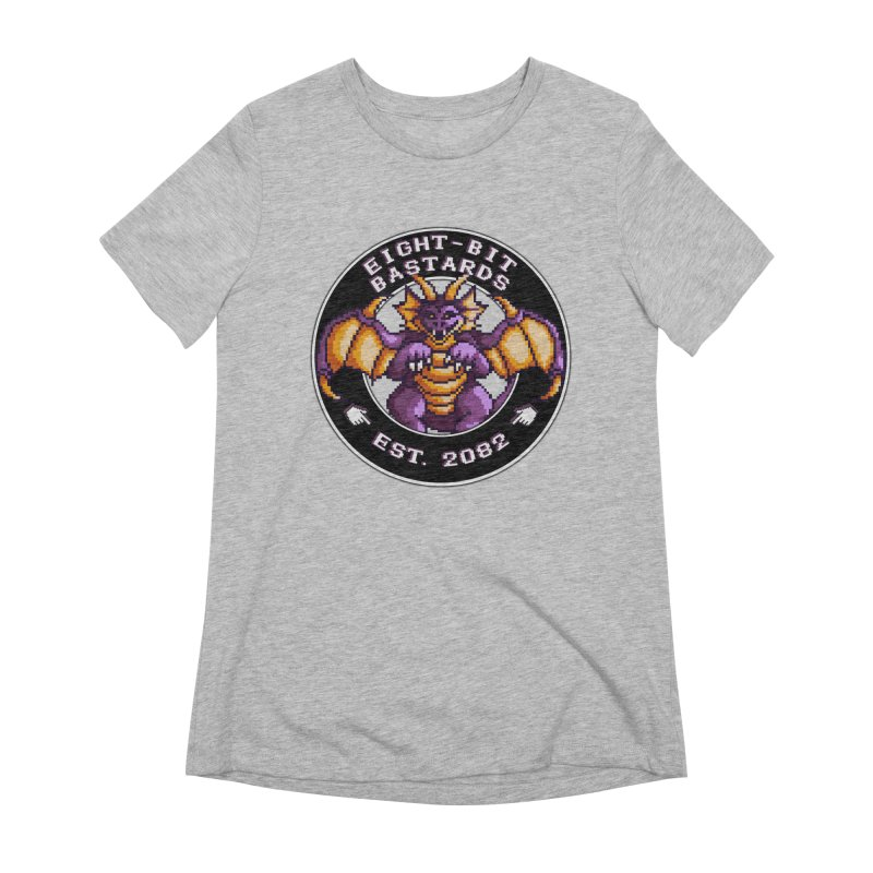 Eight-Bit Bastards Women's Extra Soft T-Shirt by steamwhistlealley's Artist Shop