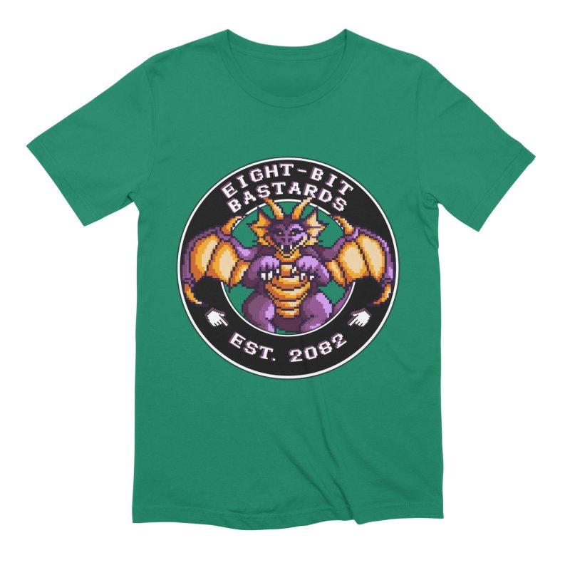 Eight-Bit Bastards Men's Extra Soft T-Shirt by steamwhistlealley's Artist Shop