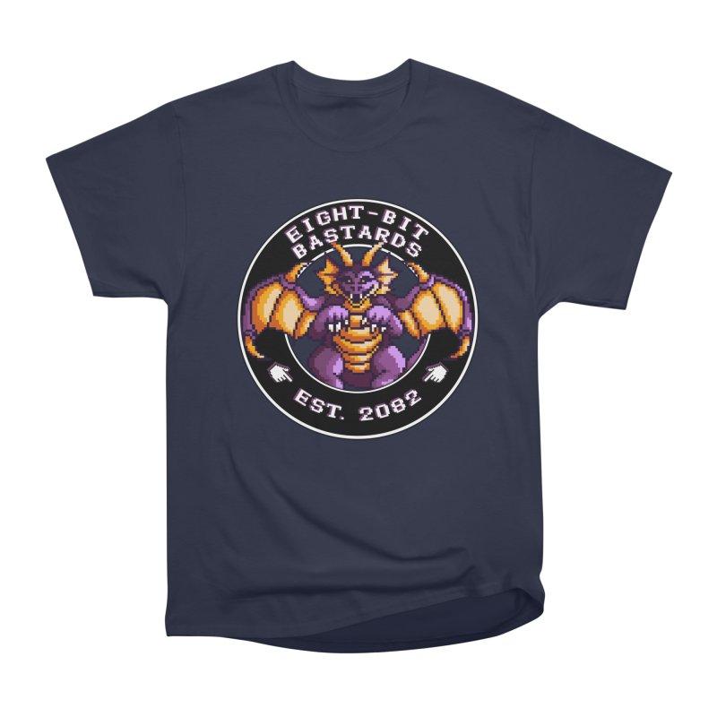 Eight-Bit Bastards Men's Heavyweight T-Shirt by steamwhistlealley's Artist Shop