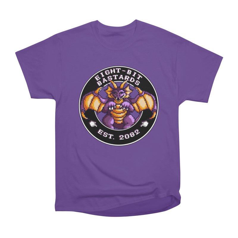 Eight-Bit Bastards Women's Heavyweight Unisex T-Shirt by steamwhistlealley's Artist Shop