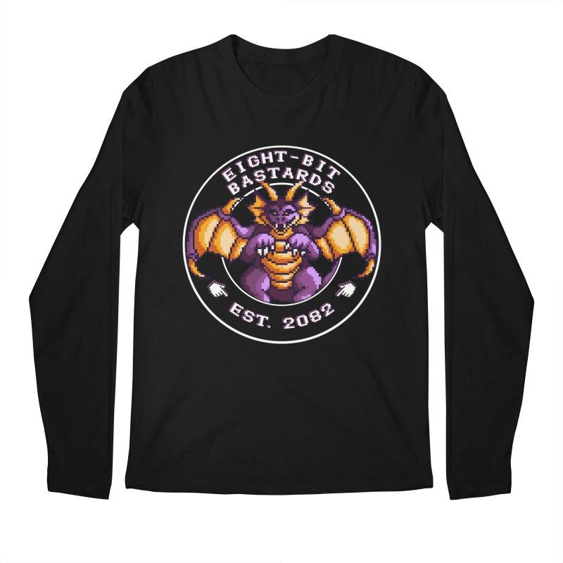 Eight-Bit Bastards Men's Regular Longsleeve T-Shirt by steamwhistlealley's Artist Shop