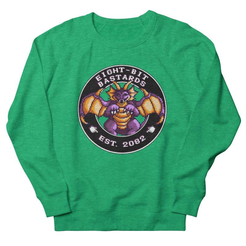 Eight-Bit Bastards Men's French Terry Sweatshirt by steamwhistlealley's Artist Shop