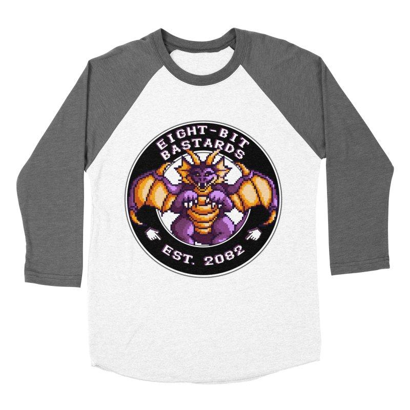 Eight-Bit Bastards Women's Baseball Triblend Longsleeve T-Shirt by steamwhistlealley's Artist Shop