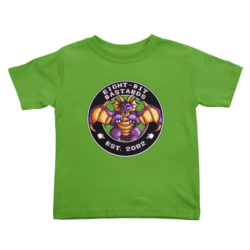 Eight-Bit Bastards Kids Toddler T-Shirt by steamwhistlealley's Artist Shop