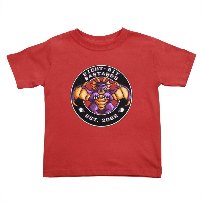 Eight-Bit Bastards Kids Toddler T-Shirt by steamwhistlealley's Artist Shop