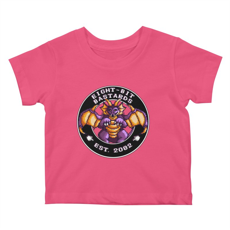 Eight-Bit Bastards Kids Baby T-Shirt by steamwhistlealley's Artist Shop