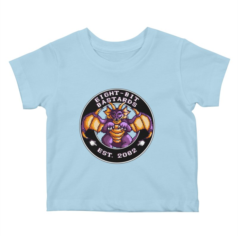 Eight-Bit Bastards Kids Baby T-Shirt by steamwhistlealley's Artist Shop