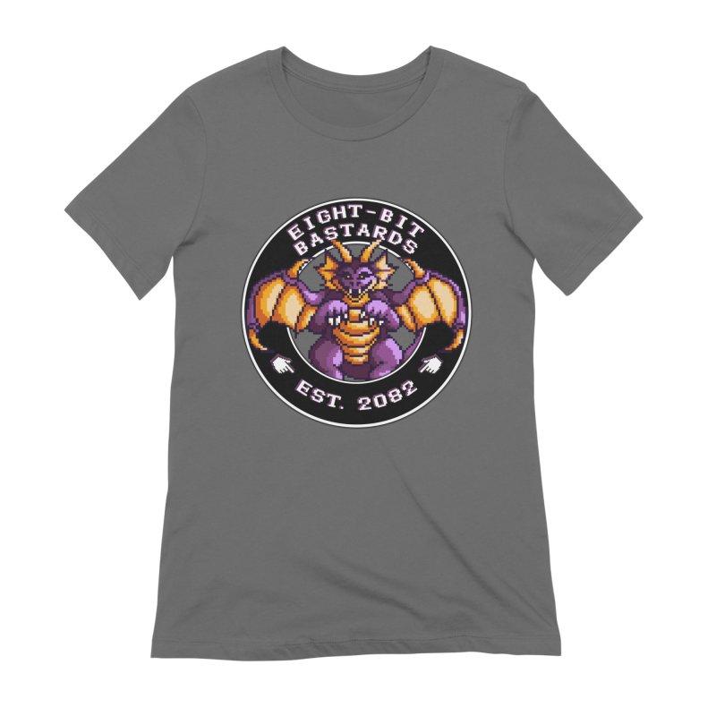 Eight-Bit Bastards Women's T-Shirt by steamwhistlealley's Artist Shop