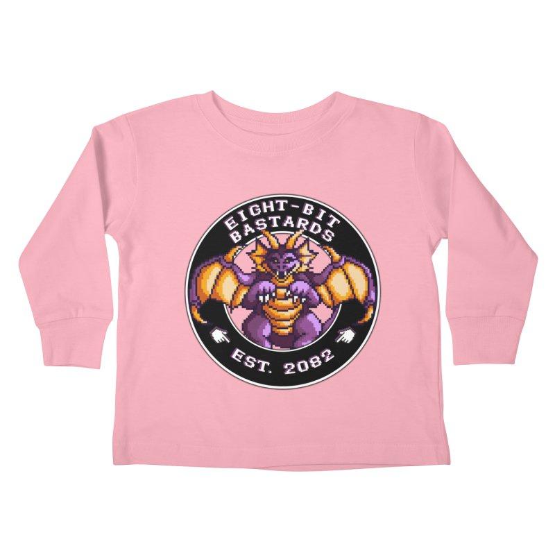 Eight-Bit Bastards Kids Toddler Longsleeve T-Shirt by steamwhistlealley's Artist Shop