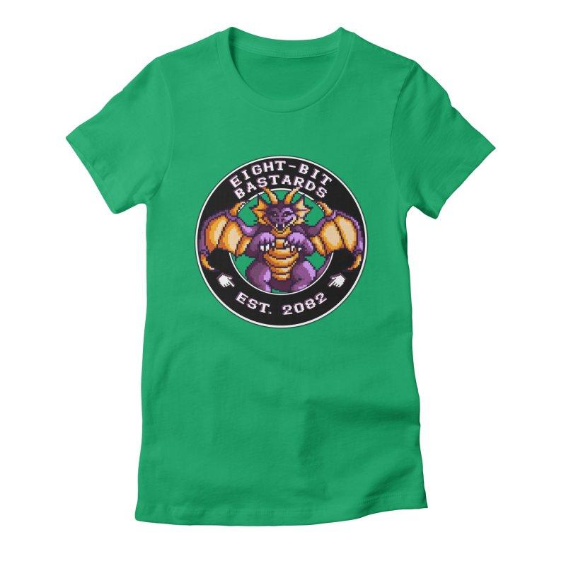 Eight-Bit Bastards Women's Fitted T-Shirt by steamwhistlealley's Artist Shop