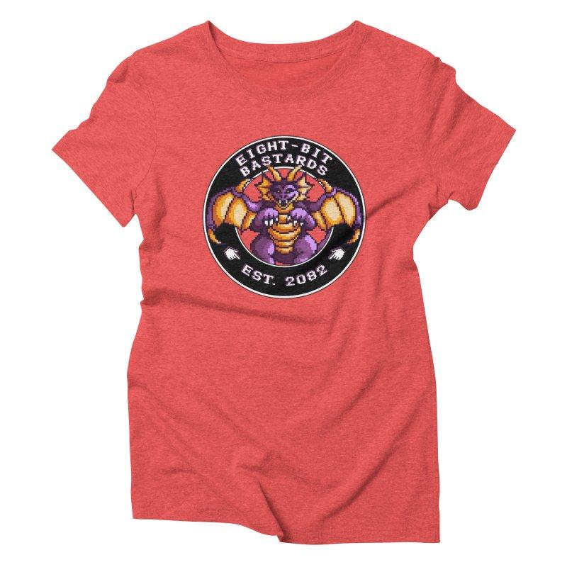 Eight-Bit Bastards Women's Triblend T-Shirt by steamwhistlealley's Artist Shop