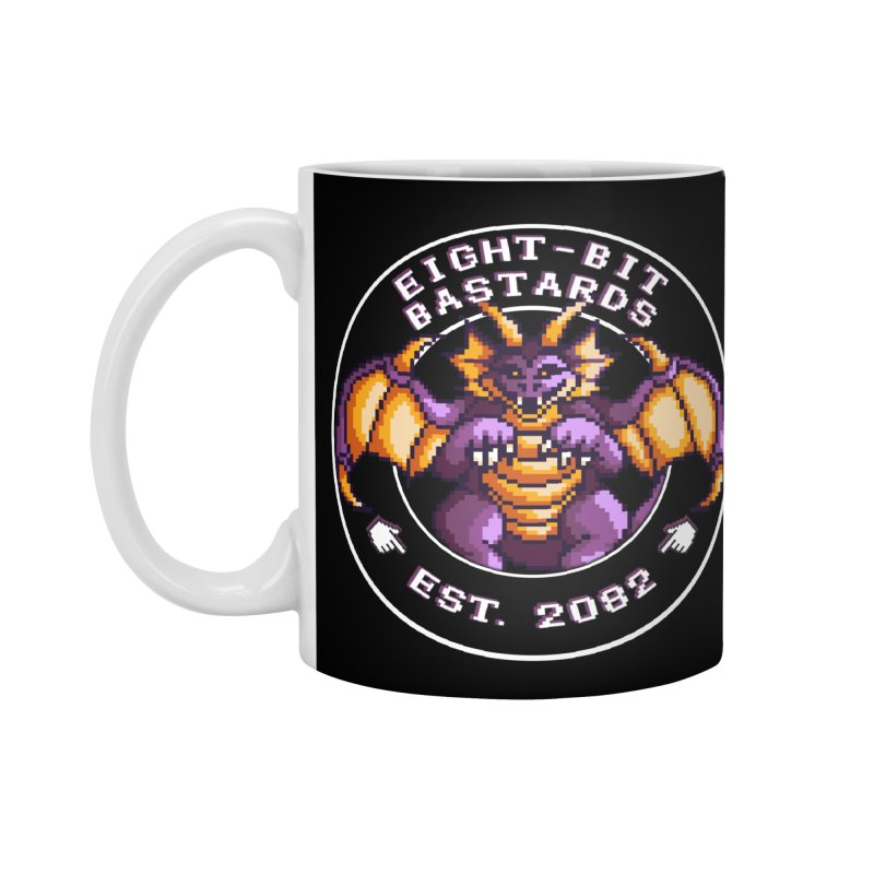 Eight-Bit Bastards Accessories Standard Mug by steamwhistlealley's Artist Shop
