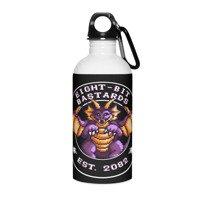 Eight-Bit Bastards Accessories Water Bottle by steamwhistlealley's Artist Shop