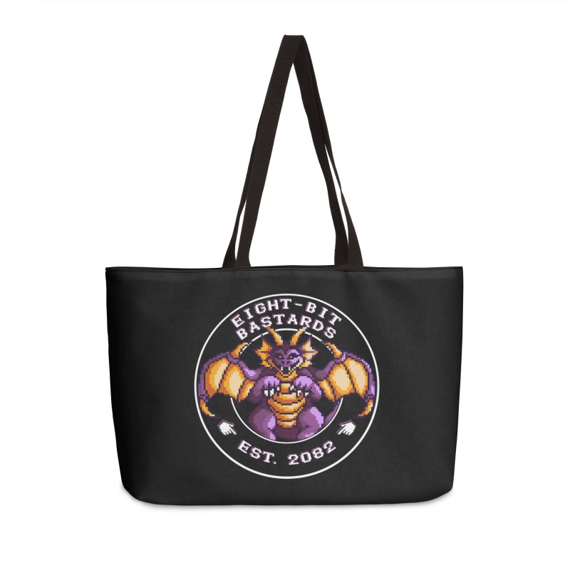 Eight-Bit Bastards Accessories Weekender Bag Bag by steamwhistlealley's Artist Shop