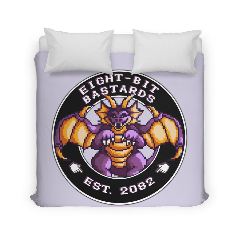 Eight-Bit Bastards Home Duvet by steamwhistlealley's Artist Shop