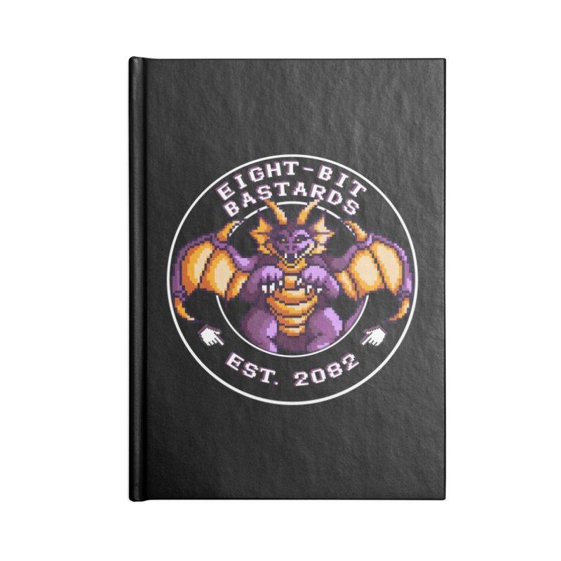 Eight-Bit Bastards Accessories Lined Journal Notebook by steamwhistlealley's Artist Shop