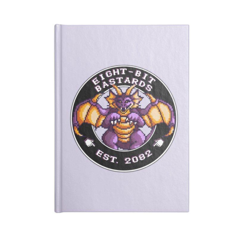 Eight-Bit Bastards Accessories Blank Journal Notebook by steamwhistlealley's Artist Shop