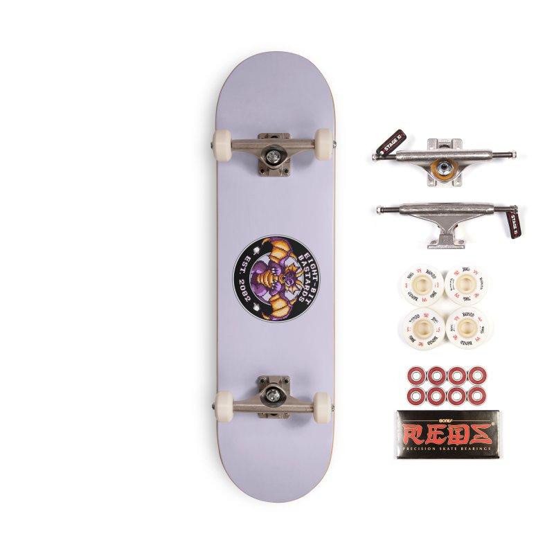 Eight-Bit Bastards Accessories Complete - Pro Skateboard by steamwhistlealley's Artist Shop