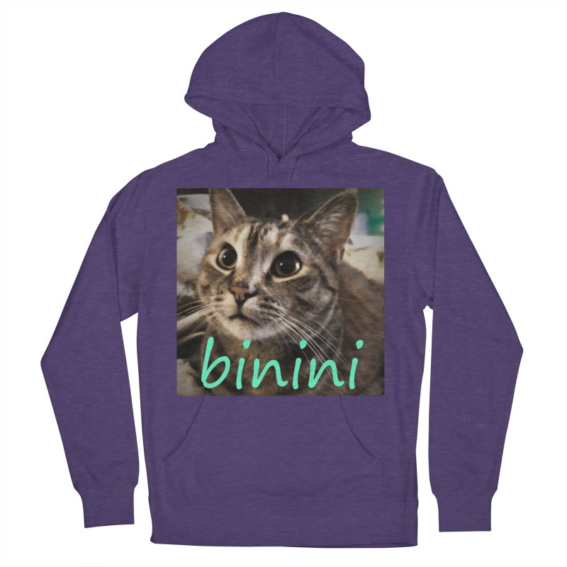 Binini Women's French Terry Pullover Hoody by steamwhistlealley's Artist Shop