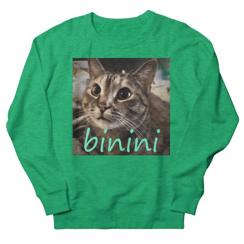 Binini Men's French Terry Sweatshirt by steamwhistlealley's Artist Shop