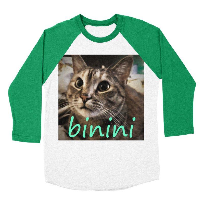 Binini Men's Baseball Triblend Longsleeve T-Shirt by steamwhistlealley's Artist Shop