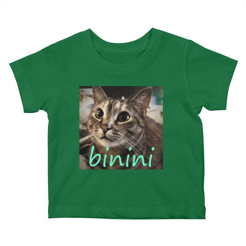 Binini Kids Baby T-Shirt by steamwhistlealley's Artist Shop