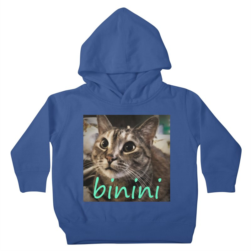 Binini Kids Toddler Pullover Hoody by steamwhistlealley's Artist Shop