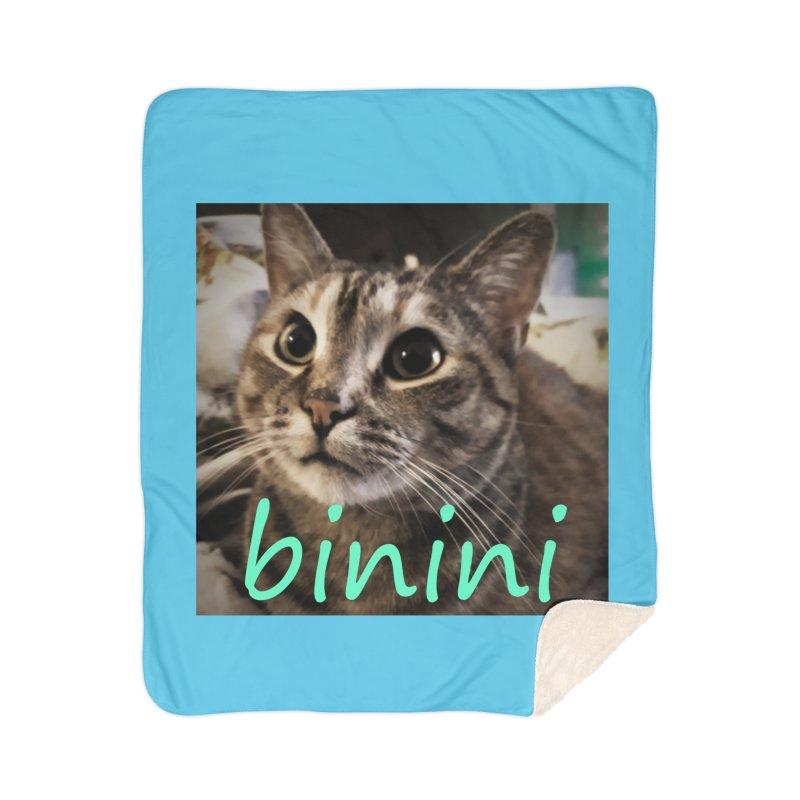 Binini Home Sherpa Blanket Blanket by steamwhistlealley's Artist Shop