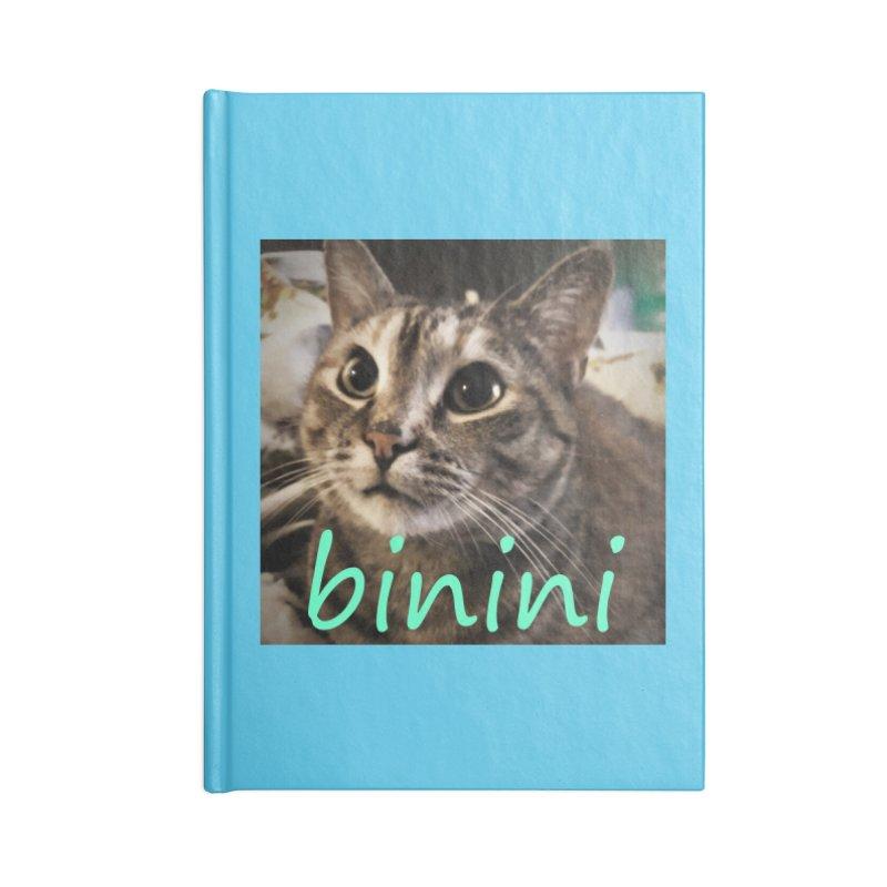 Binini Accessories Lined Journal Notebook by steamwhistlealley's Artist Shop