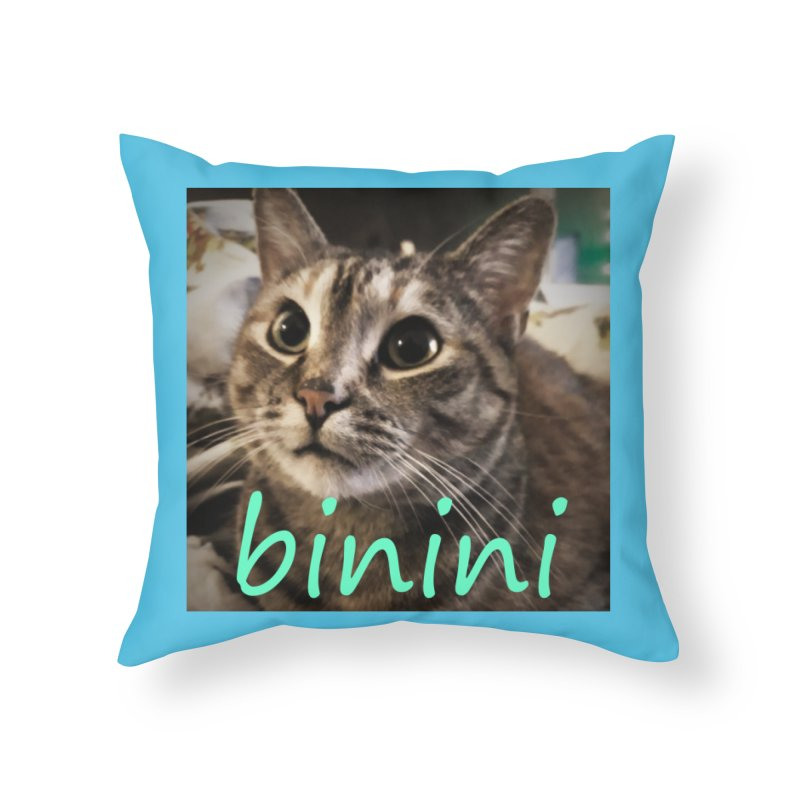 Binini Home Throw Pillow by steamwhistlealley's Artist Shop