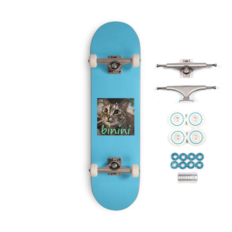 Binini Accessories Complete - Basic Skateboard by steamwhistlealley's Artist Shop