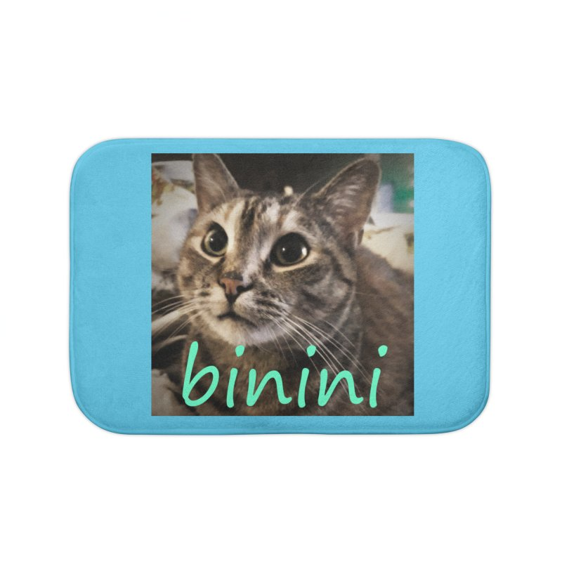 Binini Home Bath Mat by steamwhistlealley's Artist Shop