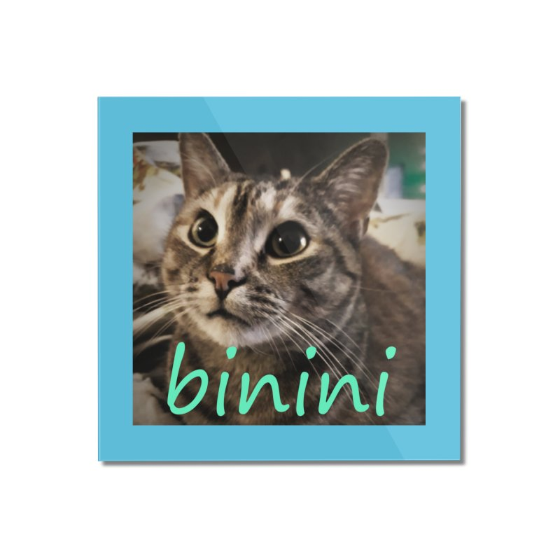 Binini Home Mounted Acrylic Print by steamwhistlealley's Artist Shop
