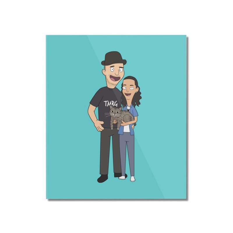 Bukacu Home Mounted Acrylic Print by steamwhistlealley's Artist Shop