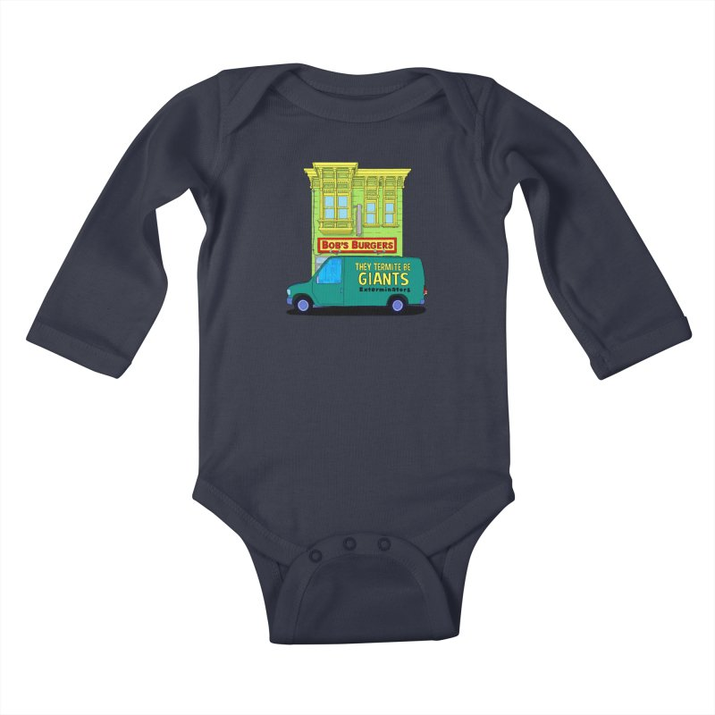 You Must Be Thinking of Some Other Bob Kids Baby Longsleeve Bodysuit by steamwhistlealley's Artist Shop