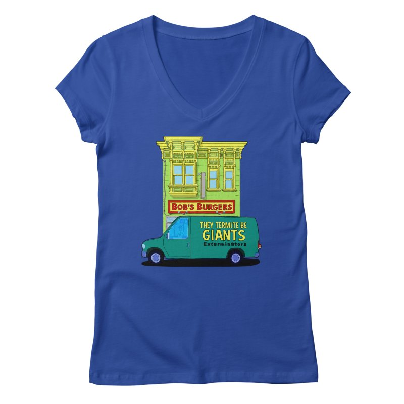You Must Be Thinking of Some Other Bob Women's V-Neck by steamwhistlealley's Artist Shop