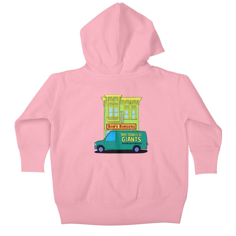 You Must Be Thinking of Some Other Bob Kids Baby Zip-Up Hoody by steamwhistlealley's Artist Shop