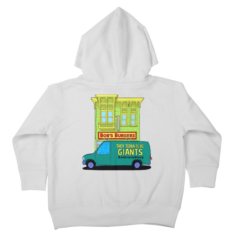 You Must Be Thinking of Some Other Bob Kids Toddler Zip-Up Hoody by steamwhistlealley's Artist Shop