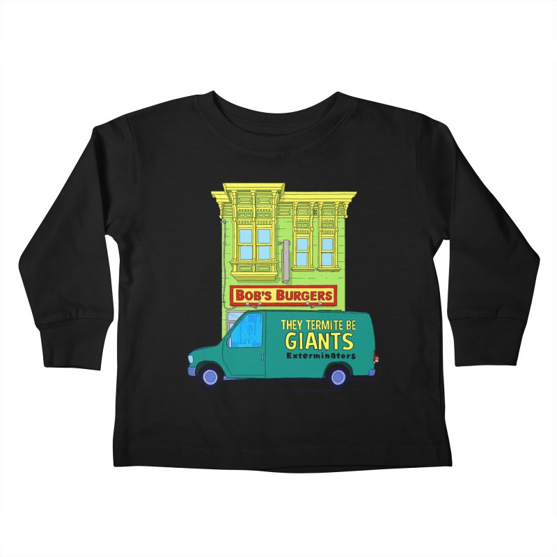 You Must Be Thinking of Some Other Bob Kids Toddler Longsleeve T-Shirt by steamwhistlealley's Artist Shop