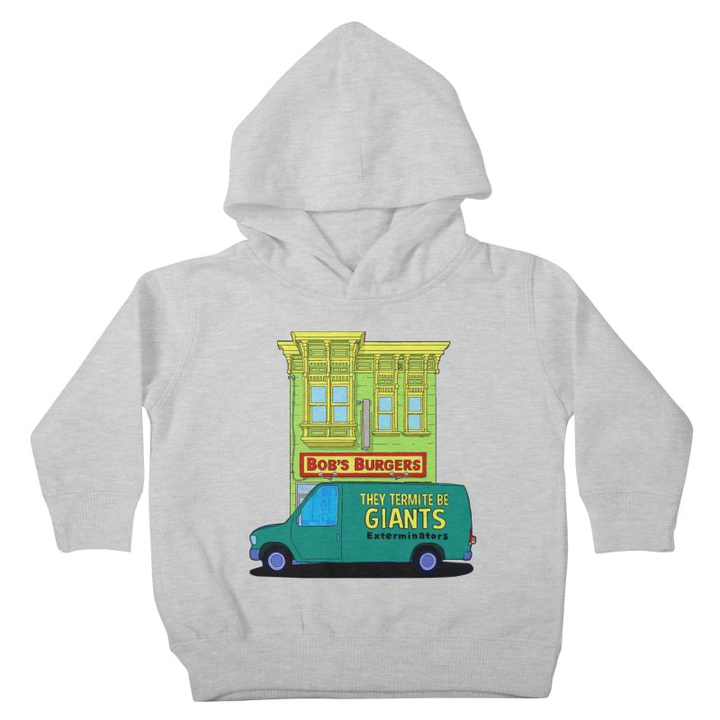 You Must Be Thinking of Some Other Bob Kids Toddler Pullover Hoody by steamwhistlealley's Artist Shop