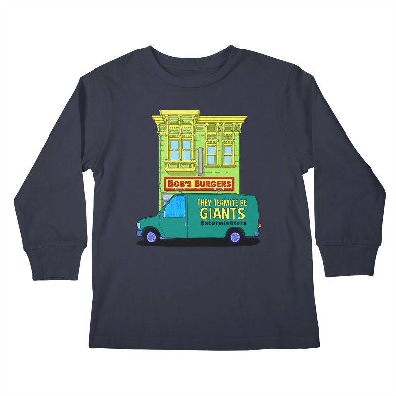 You Must Be Thinking of Some Other Bob Kids Longsleeve T-Shirt by steamwhistlealley's Artist Shop