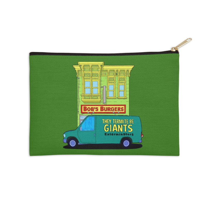 You Must Be Thinking of Some Other Bob Accessories Zip Pouch by steamwhistlealley's Artist Shop